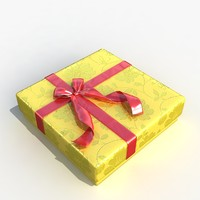 3d model gift box