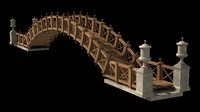 3d chinese bridge