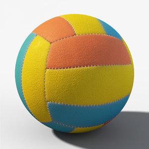 3d model ball pbr