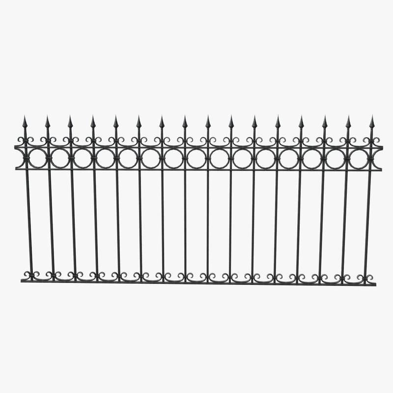 3ds fence iron