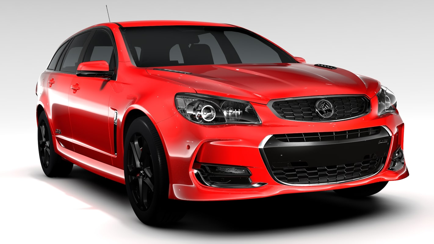 holden commodore ss 3d model