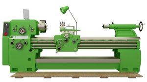 3d model lathe machine torna