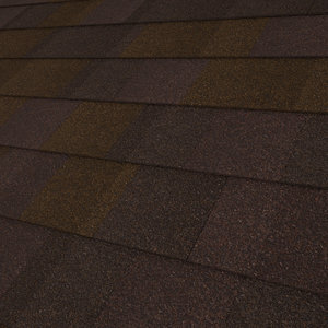 composition roof shingles 3d model