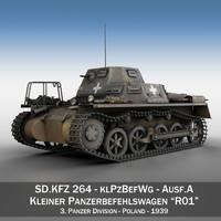 sd kfz 265 - 3d c4d