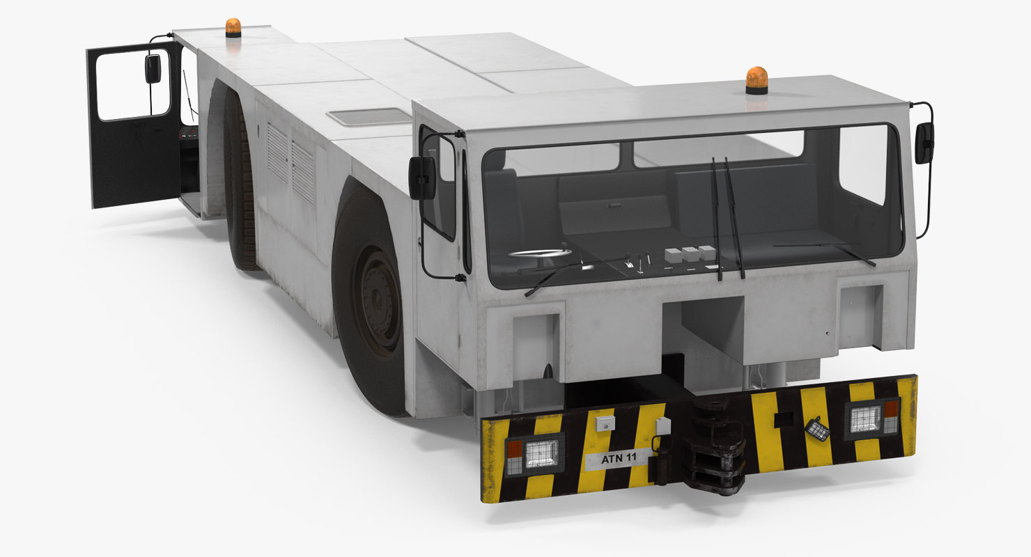 heavy aircraft tractor douglas 3d max