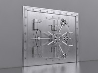 Bank Safe Vault