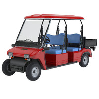 melex electric vehicle 3d model