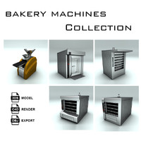 Bakery Machines Collection