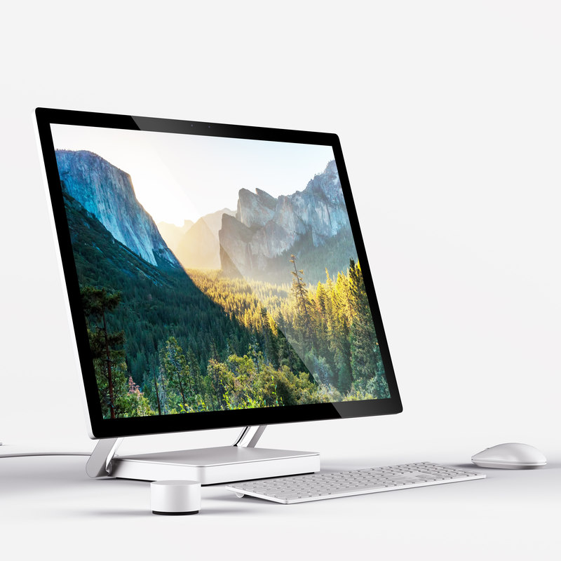 3d microsoft surface studio model