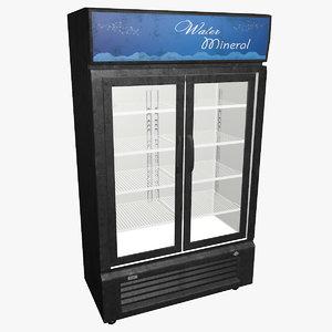fridge showcase 3d max