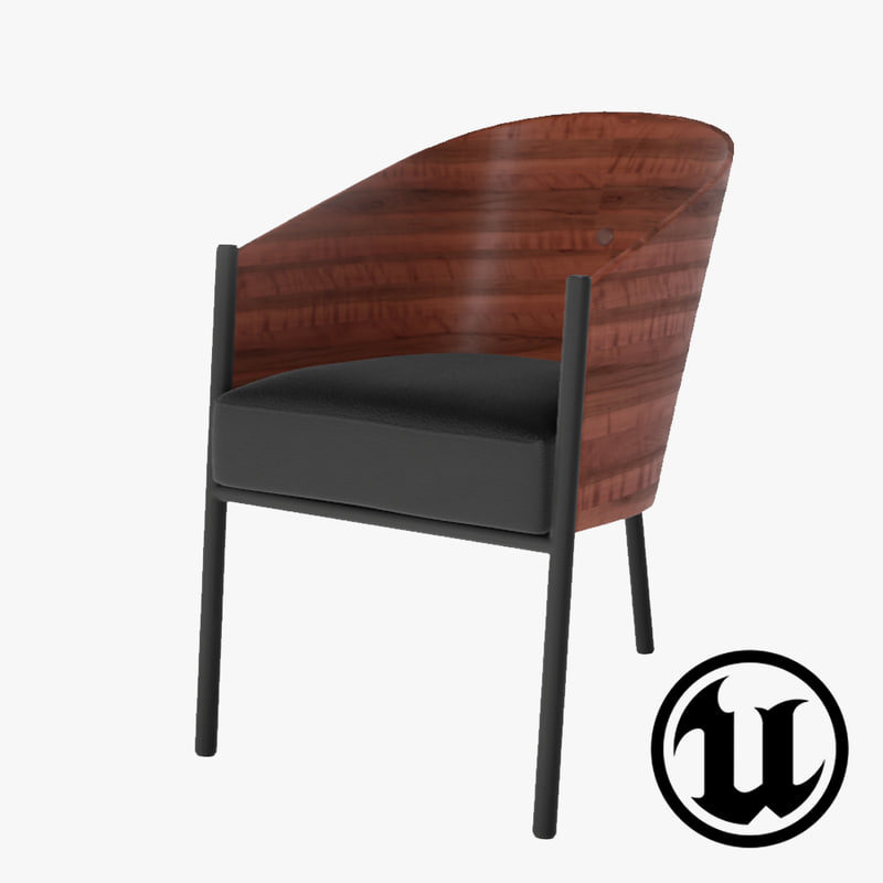 unreal coste chair ue4 3d x