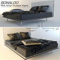 Thin bed  by Bonaldo