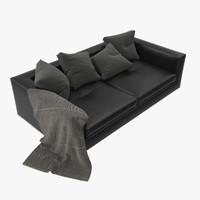 3d sofa bergame model