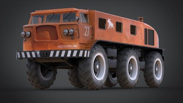 3d soviet union model