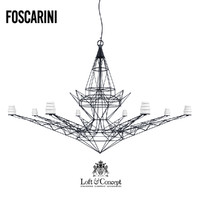 3d chandelier foscarini