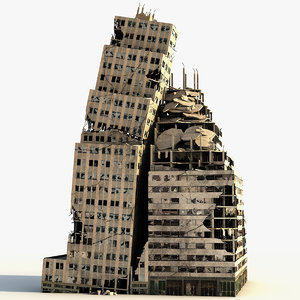 lexington tower ruined 3d model
