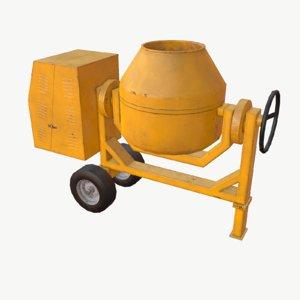 max concrete mixer
