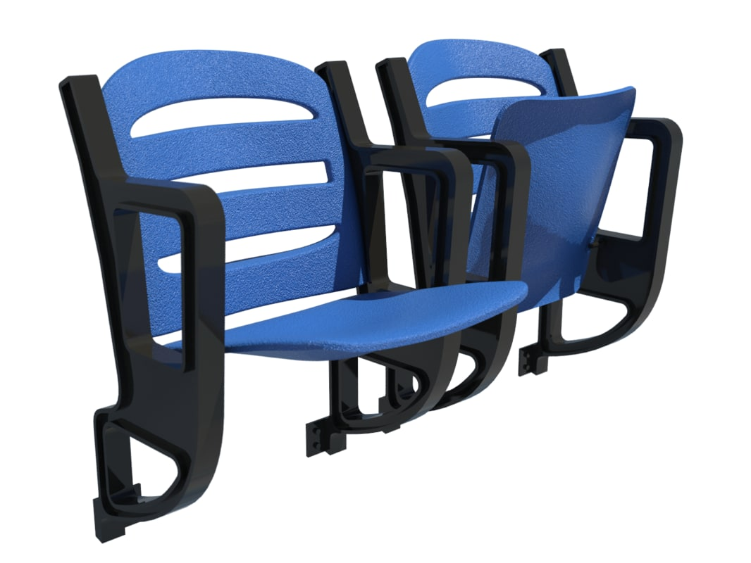stadium chair 3d max