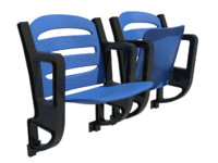 stadium chair 3d max