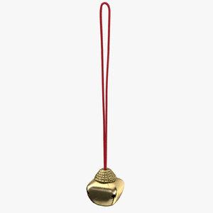 c4d christmas bells 02 long