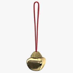 christmas bells 02 medium 3d model