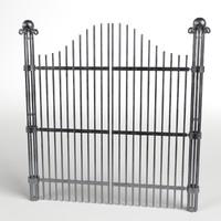 iron gate 2 3d model