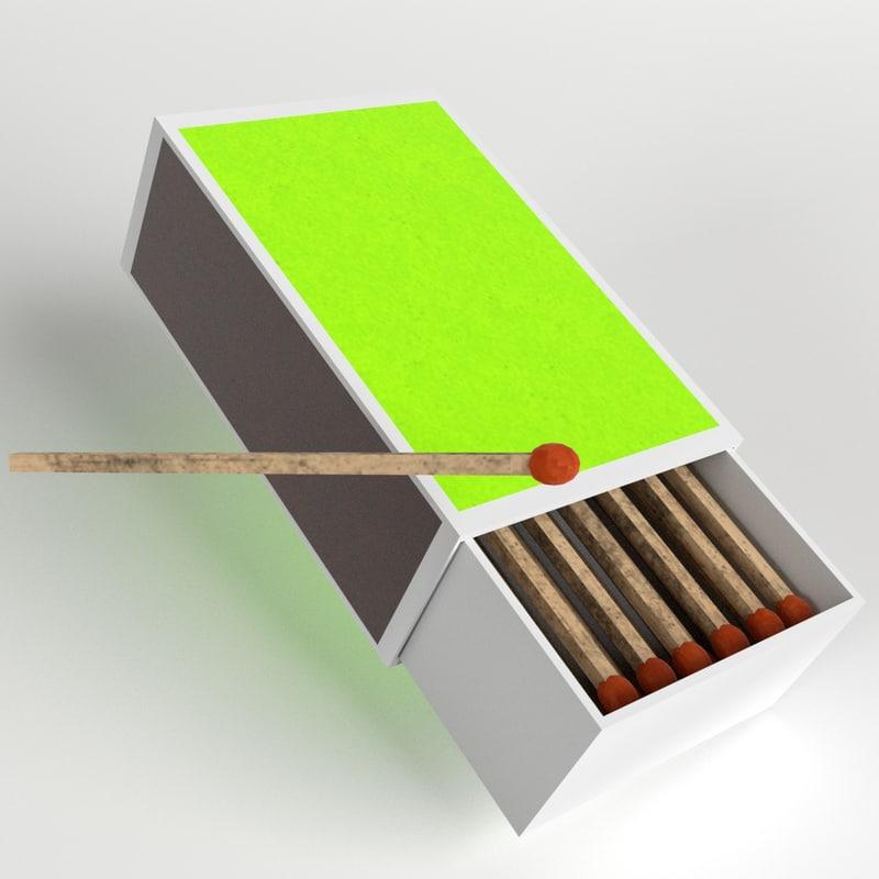 obj matchbox match box