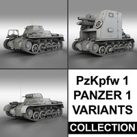 Panzerkampfwagen 1 (Panzer 1) - Collection