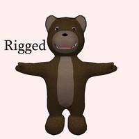 x rigged teddy