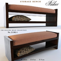 Baker Storage bench