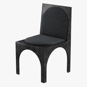 3d chair roxbury kellys model