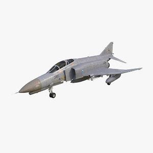 f-4 phantom ii luftwaffe 3d model