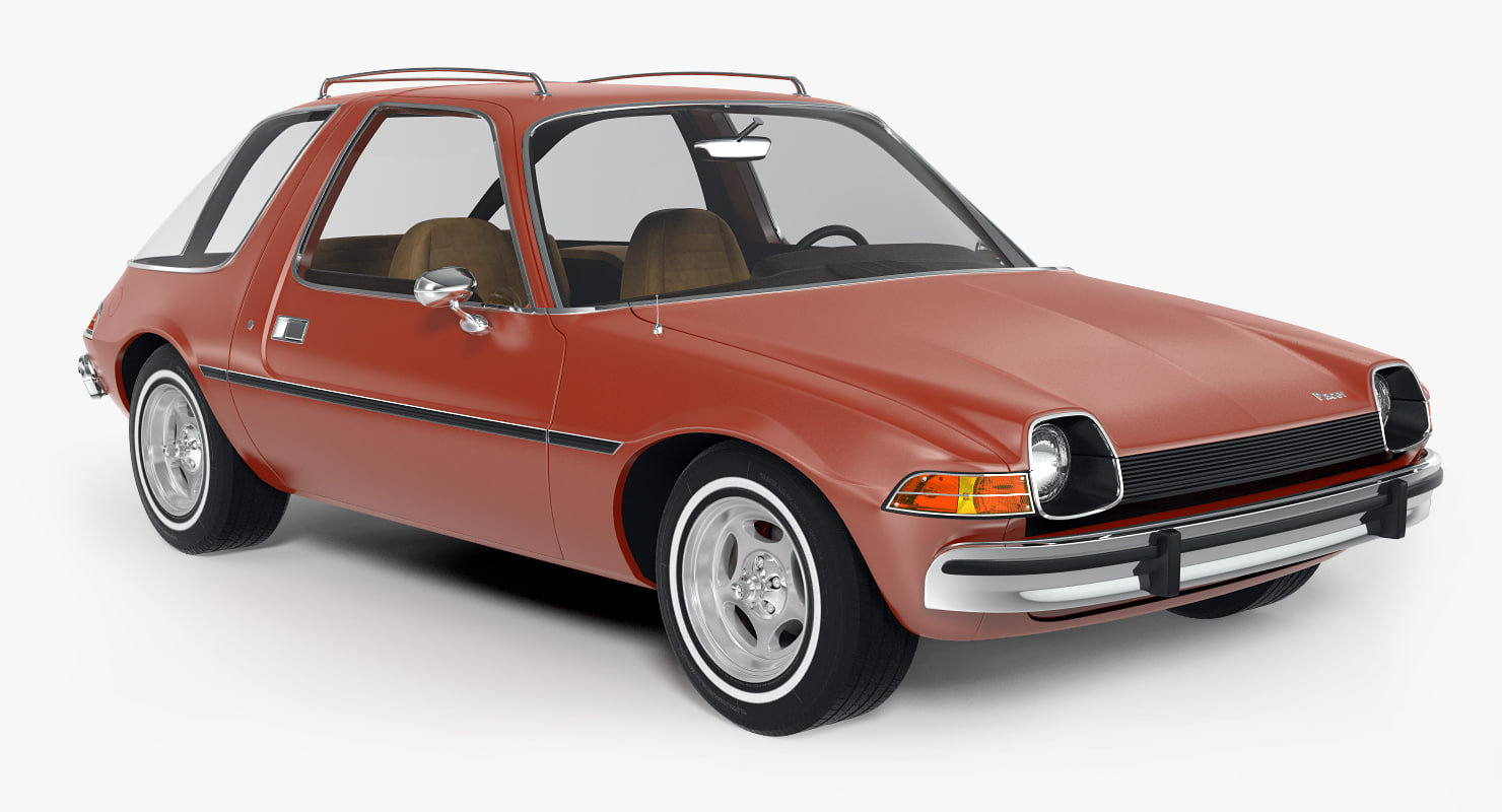 3d model car amc pacer