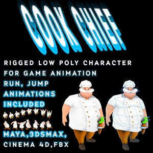 character animation 3d max