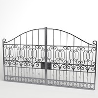 3d iron gate 3