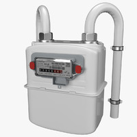 Gas Meter 3D Models for Download | TurboSquid