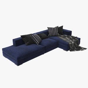 sofa boconcept cenova 3d max