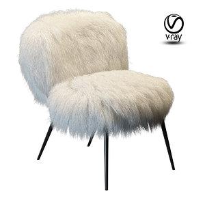 3d chair baxter nepal model