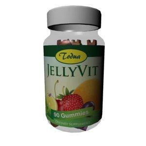 fbx jelly vitamins children