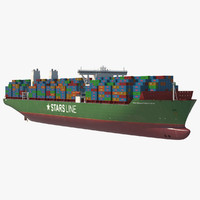 Container Ship Large