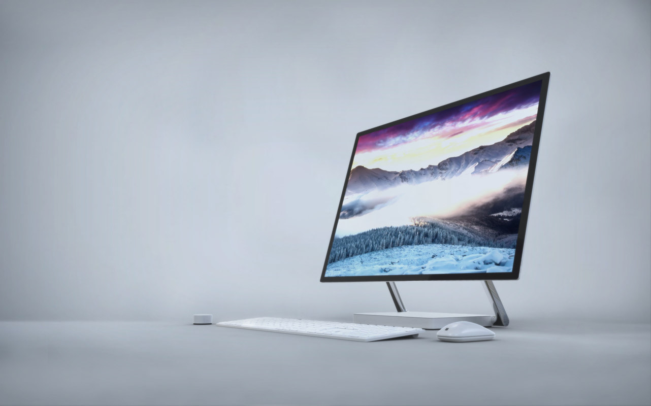 3d model microsoft surface studio