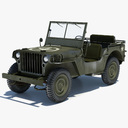 army jeep 3D models
