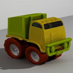 3d toy minivan
