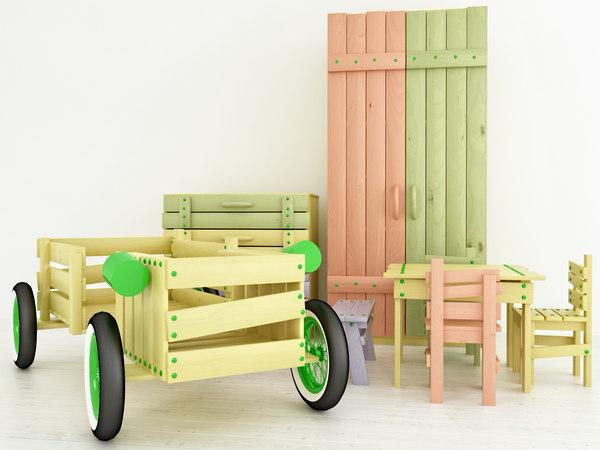 handmade wooden children furniture max