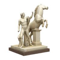 statue Dioscuri Pollux