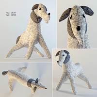 dog plush toy 3d max