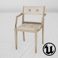 3d unreal dedon play chair