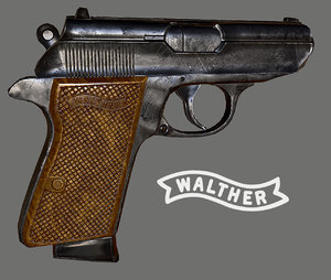 walther ppk 3d max