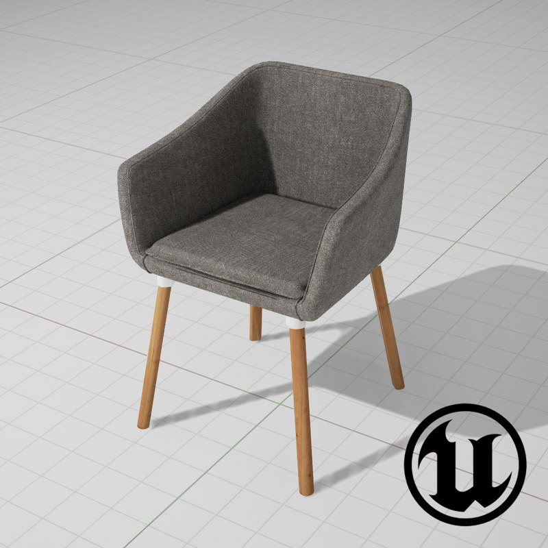 3d unreal dune chair ue4