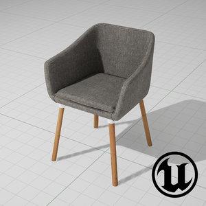 3d unreal dune chair ue4